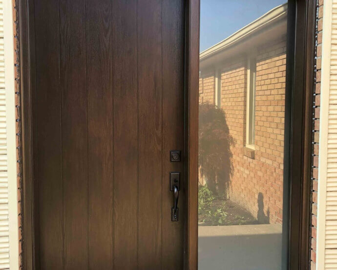 Fiberglass Door with Sidelite 071920
